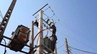 تندباد ۶۰ فیدر برق مازندران را از مدار خارج کرد