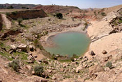 منابع آبی استان رو به کاهش است