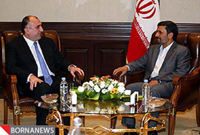 فهم مشترك ایران و آذربایجان فرصتی برای تحكیم روابط دو كشور است