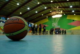 تمرینات تیم بسکتبال نوجوانان دختر پالایش نفت آبادان