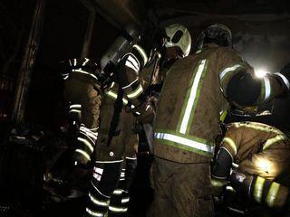آتش سوزی خیابان وصال
