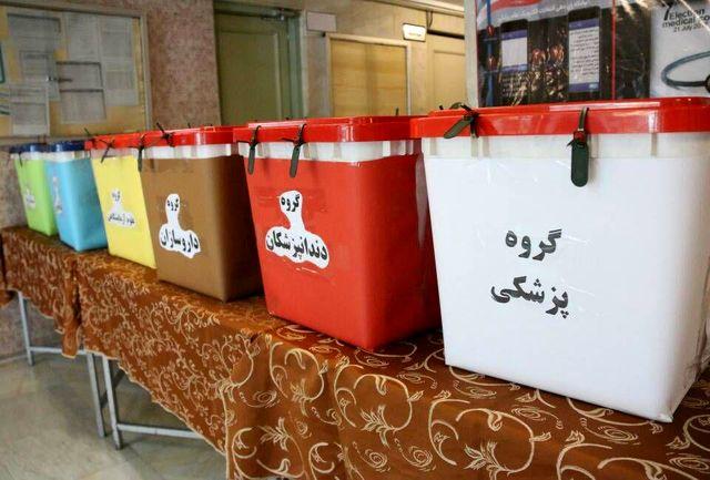 ارسال صندوق سیار برای انتخابات نظام پزشکی اهواز