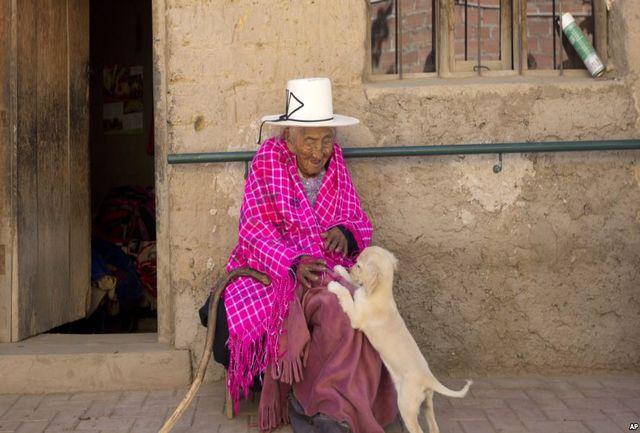 آشنایی با مسن ترین زن دنیا