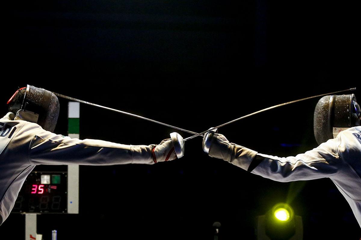 نخستین جلسه تمرین ملی پوشان سابر در توکیو