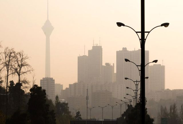 هوای پایتخت ناسالم است