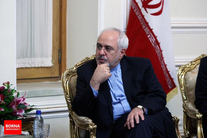 ظریف با معاون سیاسی وزیر امور خارجه عمان دیدار کرد