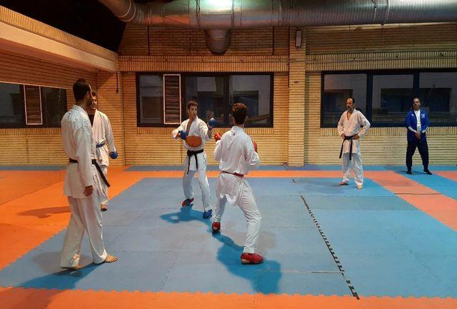 آغاز سیزدهمین مرحله اردوی تیم ملی کاراته آقایان