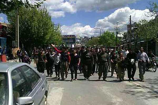درگیری اشرار با نیروهای مرزبانی در شهرستان بانه