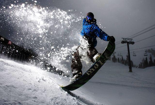 مسیر مسابقه اسکی اسنوبرد بازی های آسیایی طراحی شد