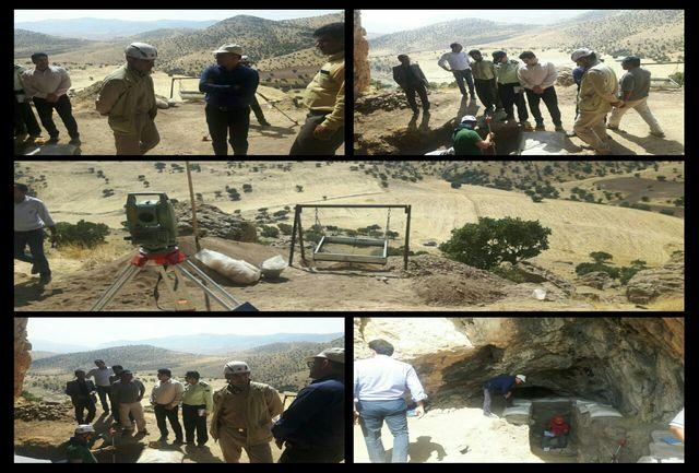 """ آغاز کاوش غار """"مرگرگلان"""" در استان ایلام"""