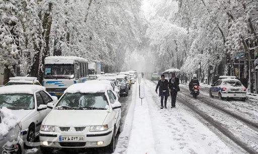 هوای اصفهان سالم است /بارش برف صبجگاهی