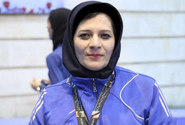 سرمربی تیم تکواندو بانوان کوان استان اصفهان: تلاش میکنیم نتیجه سال گذشته تکرار شود