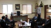 دیدار فرماندار قدس با دادستان و رئیس دادگستری شهرستان قدس