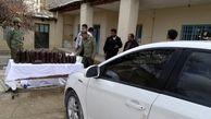 کشف محموله 63 کیلوگرم تریاک در هندیجان/دستگیری 2 سوداگر مرگ