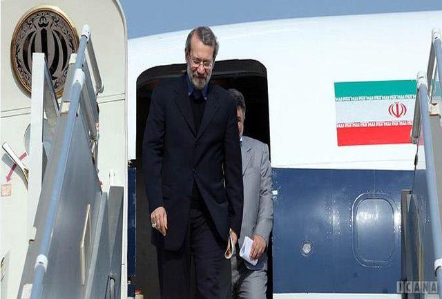 لاریجانی به شیراز رفت