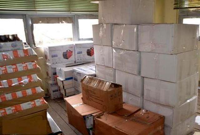 کشف انبار قاچاق کالا در لاهیجان