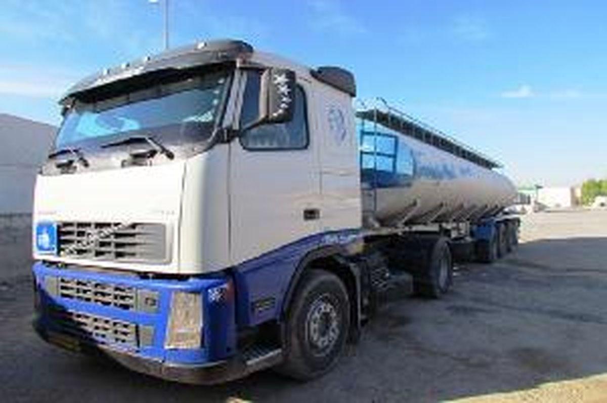 کشف 32 هزار لیتر سوخت قاچاق از یک دستگاه کامیون