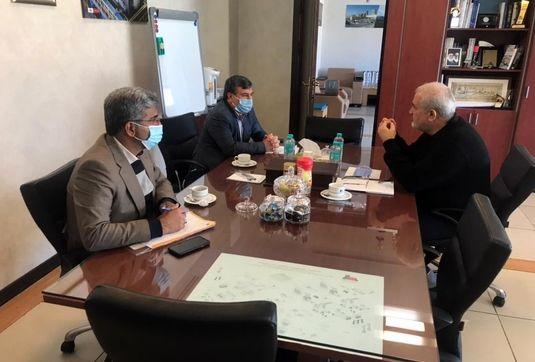 پیگیری مسائل تولید برق استان در جلسه با مدیر عامل مپنا