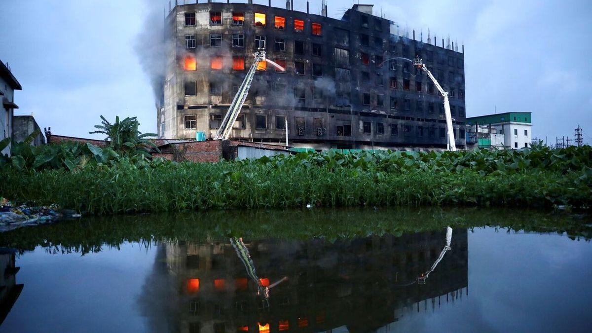 تازه ترین آتش سوزی مرگبار در یک کشور جنوب آسیا