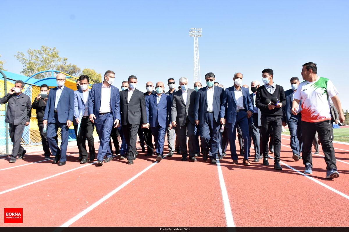 سرانه فضایی ورزشی استان مرکزی ۱۴ سانتیمتر  افزایش یافت