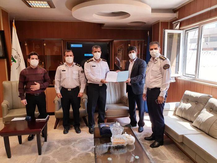 امضای تفاهمنامه همکاری بین فدراسیون بوکس و پلیس راهور