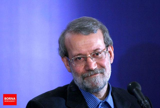 لاریجانی کسب مقام سوم پاراآسیایی را تبریک گفت