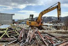 آواربرداری ۸۰۰ خانه درمناطق زلزله زده سی سخت پایان یافت