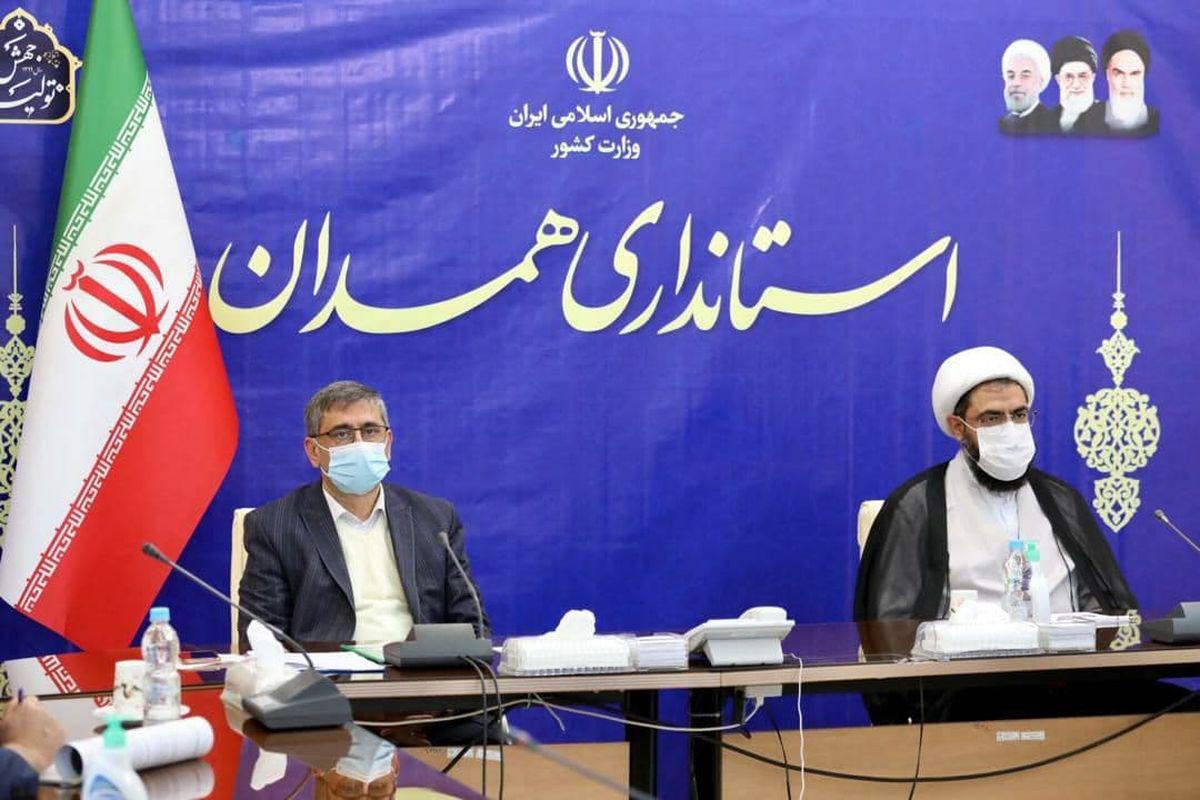 اجرای طرح محله محور حاج قاسم سلیمانی با هدف مبارزه با کرونا در استان همدان