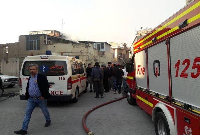 2 کشته در حادثه آتش سوزی منزل مسکونی اروندکنار