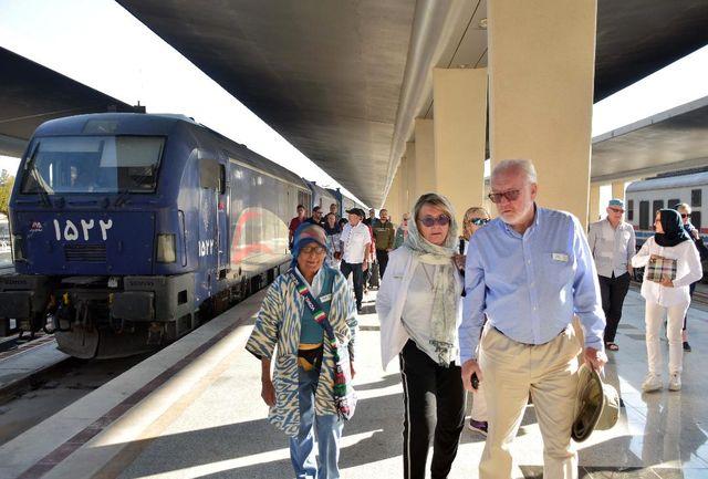 مشهد مقصد نهایی سفر ریلی مسافران خارجی