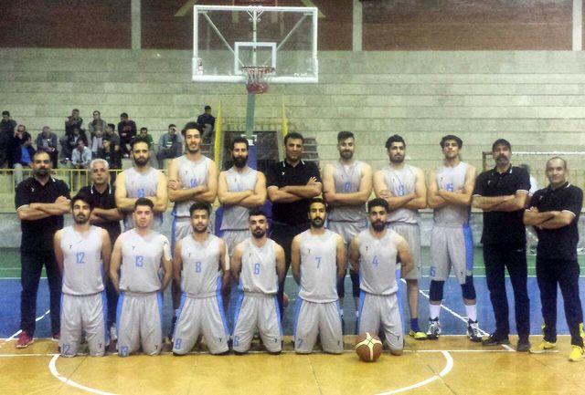 پیروزی شیرین بسکتبالیست های لرستان  بر بلندقامتان مهتاب قم