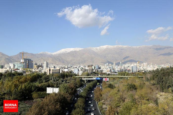 آلودگی هوا در راه تهران