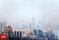 کاهش ناگهانی کیفیت هوا در تهران