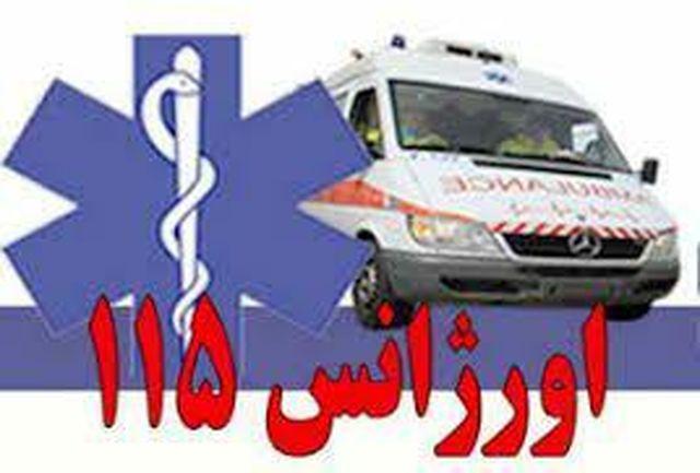 حمله به پرسنل اورژانس ۱۱۵ شهرستان شیروان در حین انجام ماموریت