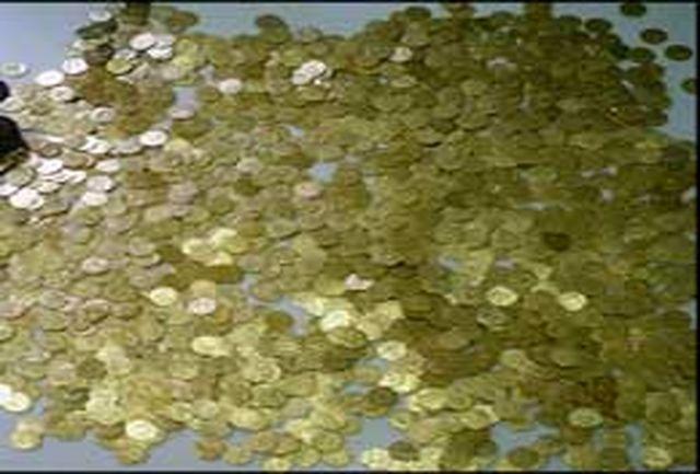فروش پیامکی 2 هزار سکه عتیقه تقلبی