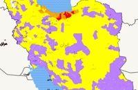 اسامی 7 شهرستان قرمز کرونایی کشور تا 24 دی 99
