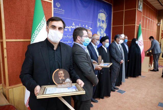 اداره کل ورزش و جوانان دستگاه برتر جشنواره شهید رجایی استان شد