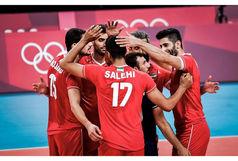 ثبت دومین پیروزی برای والیبالیستهای ایران