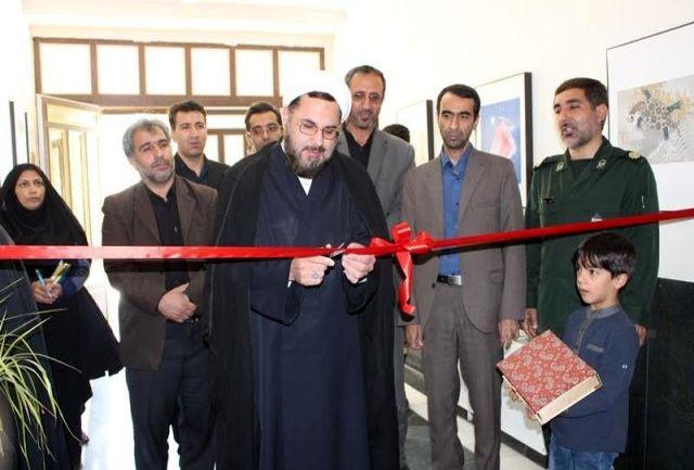 برپایی نمایشگاه علوم قرآنی و عفاف و حجاب در سرخه