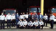 تقدیر سرپرست آموزش و پرورش قرچک از آتش نشانان