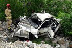 2 کشته و 2 مصدوم در سانحه رانندگی محور