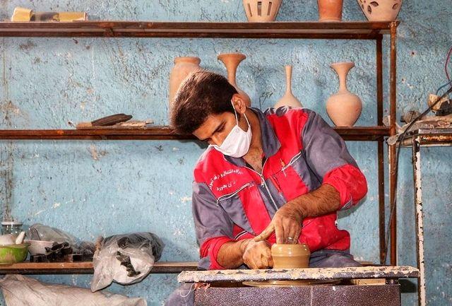 فعالیت 22 کارگاه تولید سفال در خراسان شمالی