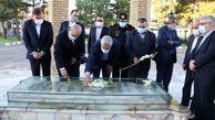 ادای احترام به مقام شامخ شهیدان در رشت