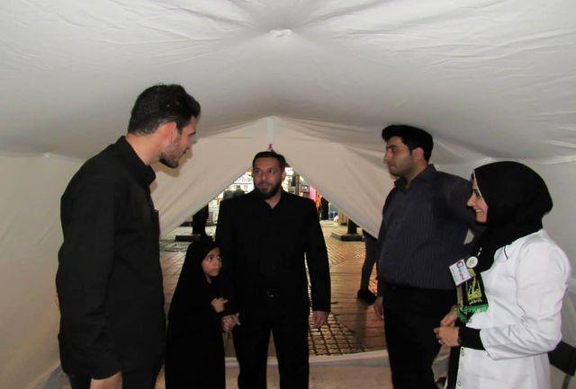 ایستگاه صلواتی سلامت با حضور جهادگران پزشکی احیاالقلوب