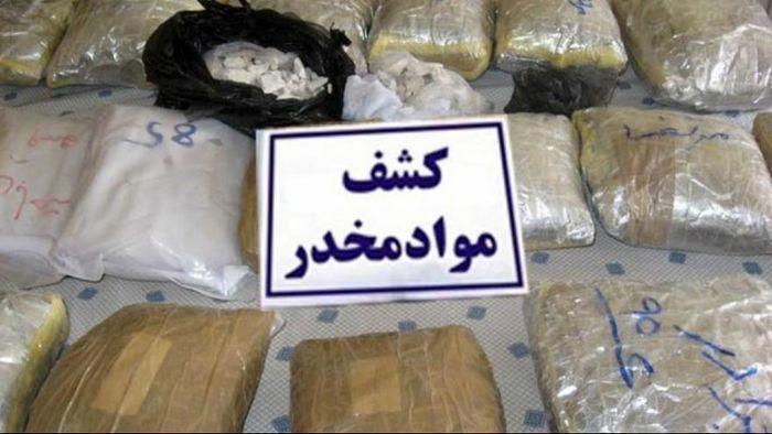 کشف حدود ۲ تن مواد مخدر در زاهدان