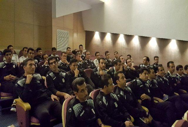 آغاز کلاس یک روزه داوران الیت فوتبال
