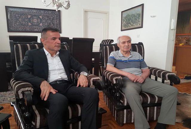 عیادت مدیران باشگاه از دو پیشکسوت نامی پرسپولیس