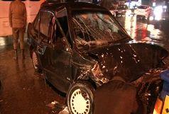 6 مجروح در حادثه رانندگی گیلان