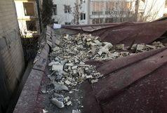 ریزش سقف  مدرسه در تهران