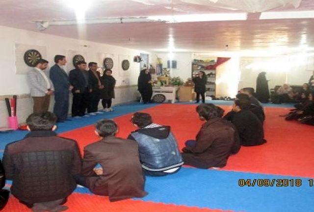 مسابقه دارت بین معلولین شهرستان ایوان برگزار شد